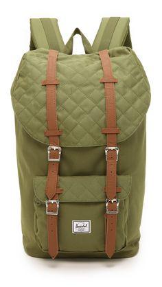 ff1468860ee6 Herschel Supply Co. Littel America quilted backpack. Herschel Backpack