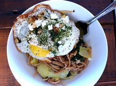 There's ALWAYS thyme for pasta! A simple, healthy pasta dish recipe from @Natalie Forté