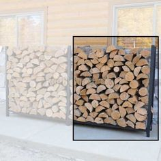 http://www.northlineexpress.com/woodeze-1-2-face-cord-expansion-kit-fr48exp-9410.html Double the storage space in your WoodEze modular firewood rack with this wood rack Extension Kit. The Extension Kit is a money saving option that adds the extra space you need to store firewood for half the price that it would cost to buy an additional firewood rack.