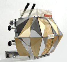 """La Pavoni """"Concorso"""" coffee machine, designed by Bruno Munari and Enzo Mari, 1956"""