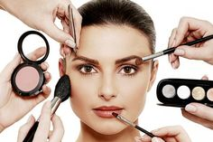 The make-up counter makeover challenge