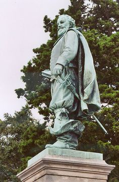 Capt. John Smith statue, Jamestown VA