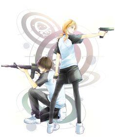 Chiba and Hayami - Assassination classroom