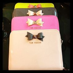 Super cute Ted Baker iPad cases out in Spring 2013!