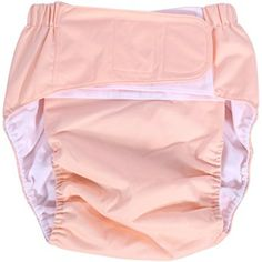 Adult Cloth Diaper Cover Urinary Incontinence Nappy Snap Closure Reusable Insert ABDL Play for Elderly Teen 2 packs Inserts