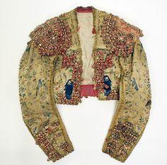 Toreador suit Date: 19th century Culture: Spanish Medium: silk, metallic thread, glass, cotton
