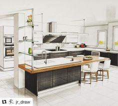 Eclectic Interior Retro - Old Rustic Interior - Organic Interior Architecture - - Interior Design Renderings, Drawing Interior, Interior Rendering, Interior Sketch, Interior Design Tips, Interior Architecture, Interior And Exterior, Interior Shop, Classical Architecture