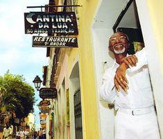 Cantina da Lua, un bar y restaurante tipíco de Salvador de Bahía.