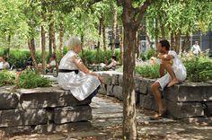 Village of Yorkville Park, Toronto, Canada - Martha Schwartz Partners