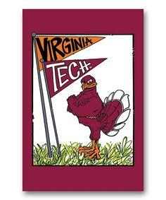 Magnolia Lane Virginia Tech Hokies Mascot Flag | zulily