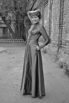 Crimean Tatar girl. Костюм крымских татар