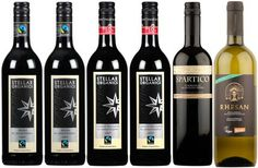 #FairTuesday Gifts for #wine lovers #foodies Fairtrade Wines - Case of 6