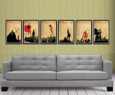Hey, I found this really awesome Etsy listing at http://www.etsy.com/listing/108343774/justice-league-posters-set