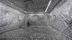 peter kogler spacial illusions walls interior