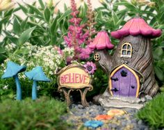Quaint log cottages, bright seasonal homes and quirky feature houses – find the perfect home for the fairies living in your garden. Description from fairygardeningaustralia.com.au. I searched for this on bing.com/images