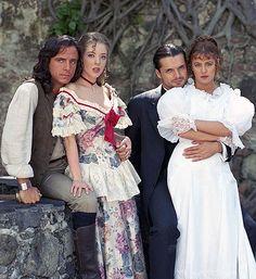 CORAZÓN SALVAJE 1993 | Eduardo Palomo, Edith Gonzalez, Ariel Lopez Padilla y Ana Colchero