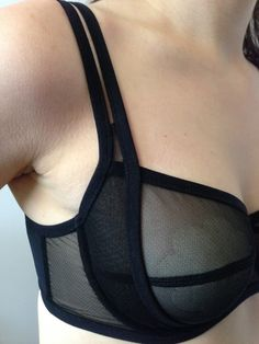 The Sewing and Life Adventures of Emerald Erin: Bra-A-Week [44]: Black Beauty