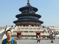 This is my brother in Beijing.Isn't he sweet?