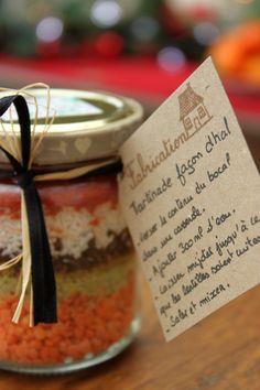 Cadeau gourmand : kit pour tartinade façon dhal