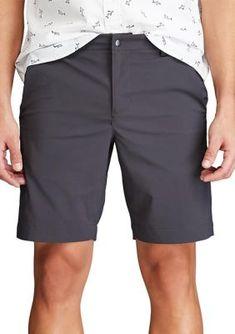 Size 52 Inseam 10 Chaps Big Tall Stretch Cargo Shorts Media Pocket Khaki