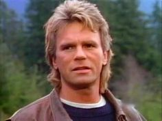MacGyver, the man who could fix anything with a paper clip and a wad of gum