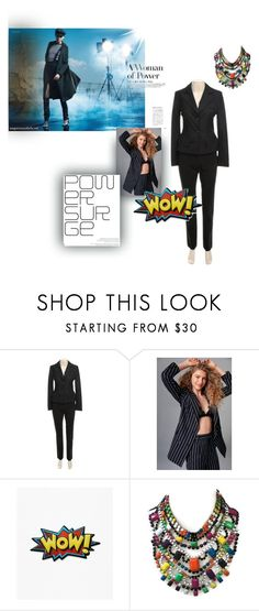 """""""power"""" by mimmiandkinkistatementjewelry ❤ liked on Polyvore featuring Wolford and Ghospell"""