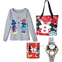 """Mickey and Minnie Smooches"""