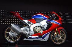 The Honda CBR1000RR Fireblade SP2 at the Intermot unveiling