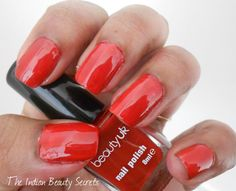 Beauty UK Nail Polish Set - West End Girl Swatches - The Indian Beauty Secrets Find out more on http://theindianbeautysecrets.com/beauty-uk-nail-polish-set-west-end-girl-swatches/