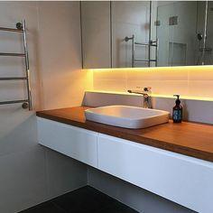 Mirror lighting  Regram @hatchway_developments #bathroom #taps #interiordesign #architecture #australia
