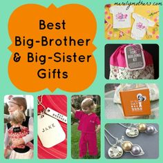 Best Big-Brother & Big-Sister Gifts #missm (including a photobook for Miss M about the day SHE was born)