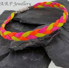 http://etsy.me/2lUAdbu #leather #bracelet #leatherbracelets #bracelets #surfer #festival #bright #vibrant #colourful #colour #yellow #orange #pink #Fluorescent #festivals #etsy #etsysellers #etsyjewellery #jewellery #handmade #magneticclasp #handmadehour #handmadejewellery #instagram #facebook #twitter #pinterest #modern #contemporary #party #stylish #partywear #bold #comfortable #soft #softleather #plaited #…