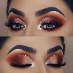 """2,878 Likes, 68 Comments - Diana Maria (@dianamaria_mua) on Instagram: """"One of my favourite kinds of eye makeup ✨ would totally wear this for a Christmas party Product…"""" #makeuplooks2017"""