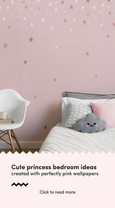 38 best Wallpaper for girls room images | Wall papers, Bedroom ideas ...