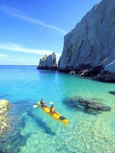 Kayaking on Turquoise, Kastelorizo, Greece