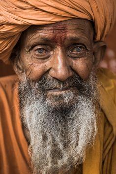 90 years old Sadhu in Pushkar