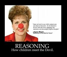 A person with reason and critical thinking skills has always been a threat to…