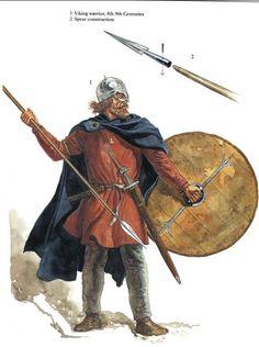 Viking warrior, 8th-9th century