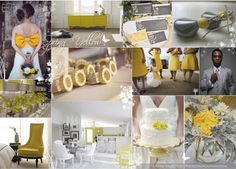 yellow weddings | ... Spring Colour Obsession: Yellow & Grey | Fantastical Wedding Stylings