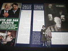 DAN-AYKROYD-magazine-clippings-Revlon-ad