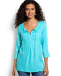 Tommy Bahama - Yardley Linen Tunic  $110 (NO WISHLIST OPTION)
