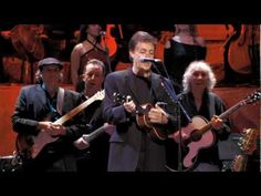 Concert For George: Ringo Starr introduces Paul McCartney who then sings FOR YOU BLUE and SOMETHING.