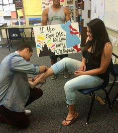 cute homecoming proposals - Google Search