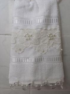 Gift idea - embellished towel.