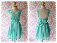 Mint Party Dress