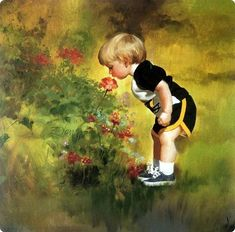 oil paintings of children - Google Search