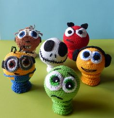 Crazy juggling! | Ami loves Gurumi - free crochet pattern