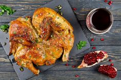 Цыпленок тапака в прошлом-табака: как готовить и правильно кушать Tandoori Chicken, Ethnic Recipes, Food, Essen, Meals, Yemek, Eten
