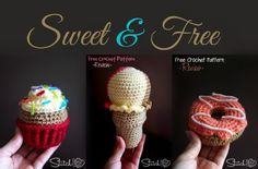 I'll be honest.. during the 4 years I have been crocheting, I have wondered why people get stuck in food related crochet. I just didn't understand the appeal to that extent, until I made the Ice Cream. So far I have reviewedor written just the three sweet patterns but I can already envision all the …