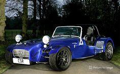 Caterham Cars - Designed for racing, built for living